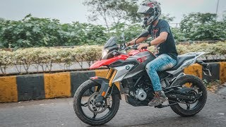 Download Not Satisfied Test Riding BMW G 310GS Video