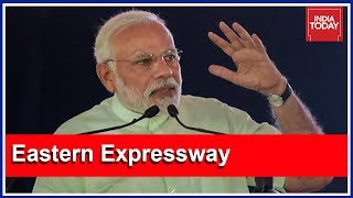 Download PM Modi Inaugurates Eastern Peripheral Expressway; Launches Scathing Attack On Congress Video