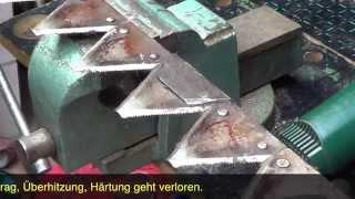 Download Mähmesser mit Fächerschleifscheibe schärfen Video
