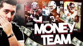 Download BACK TO BACK 99'S!! THE MONEY TEAM! MADDEN 17 SPIN THE WHEEL DRAFT CHAMPIONS! Video