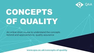 Download Concepts of Quality Webinar Video