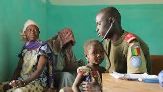 Download No Mali, forças de paz da ONU levam saúde a locais remotos Video