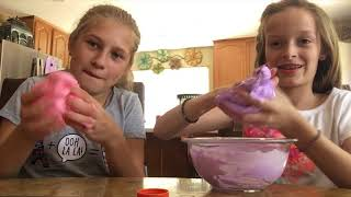 Download Teaching my friend how to make slime!!!! Video