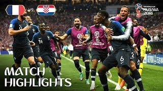 Download France v Croatia - 2018 FIFA World Cup™ FINAL - HIGHLIGHTS Video