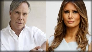 Download TOMMY HILFIGER REACTS TO DESIGNER WHO WANTS TO BOYCOTT MELANIA TRUMP Video
