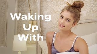 Download This is Victoria's Secret Angel Taylor Hill's Morning Routine | Waking Up With | ELLE Video