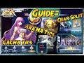 Download GUIDE: TIPS GACHA, TIPS ARENA, CHAR SPLIT, GEM GRATIS - Saint Seiya Awakening Video
