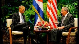Download LIVE: Raúl Castro officially welcomes Obama to Cuba Video