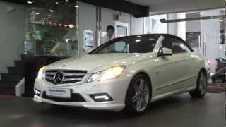 Download Mercedes-Benz E250 CGI Cabriolet ( AMG Edition ) Video