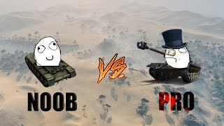 Download World Of Tanks PRO vs NOOB Video