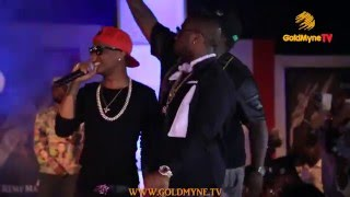 Download WATCH: WIZKID AND DAVIDO PERFORM TOGETHER ON STAGE AT 'AT THE CLUB WITH REMY MARTIN' GRAND FINALE Video