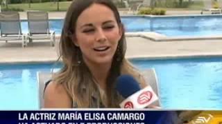 Download La actriz ecuatoriana María Elisa Camargo triunfa en el exterior Video