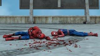 Download Civil war spiderman vs The amazing spiderman vs Captain America Video