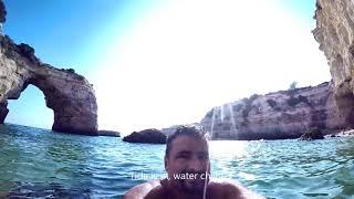 Download Portugal's Hidden Gem: Albandeira Beach, The Algarve Video