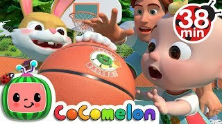 Download Basketball Song + More Nursery Rhymes & Kids Songs - CoCoMelon Video