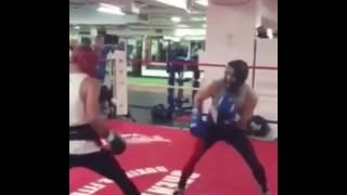 Download Conor McGregor Getting Beat Up By Boxer Chris Van Heerdan (Boxing Spar) Video