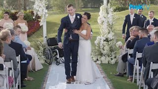 Download Groom Miraculously Walks Down Aisle After Being Paralyzed Video
