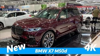 Download BMW X7 M50d 2019 - first exclusive quick look in 4K - better than new Mercedes GLS? Video
