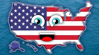 Download 50 States Song for Kids/50 States and Capitals for Children/USA 50 States Video