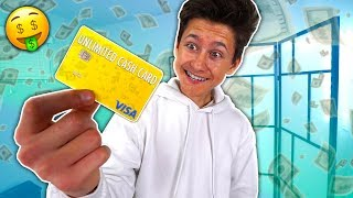 Download I Gave My LITTLE BROTHER a *UNLIMITED CASH CARD* For 1 HOUR, Here's What He Bought... Video