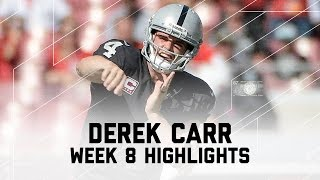 Download Derek Carr Throws for Over 500 Yards | Raiders vs. Buccaneers | NFL Week 8 Player Highlights Video