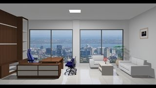 Download Sketchup Interior design ( Office ) Video