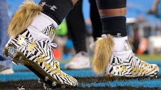 Download Cam Newton's Cleats Have Tails..WTF Video
