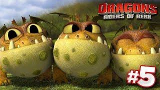 Download FINDING DRAGON EGGS! | DRAGONS : Rise Of Berk - Ep5 HD Video