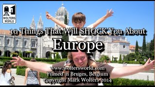 Download Visit Europe - 10 Things That Will SHOCK You about Europe Video
