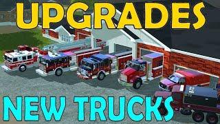 Download Farming Simulator 17 | Fire Rescue Upgrades | New Engines, Tanker, Rescue & Brush Truck Video