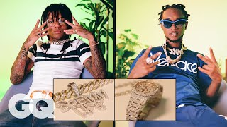 Download Rae Sremmurd Show Off Their Insane Jewelry Collections | On the Rocks | GQ Video