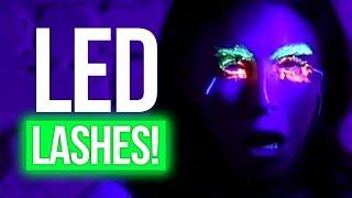 Download LED Eyelashes FAIL w/ JOJO SIWA! (Beauty Break) Video