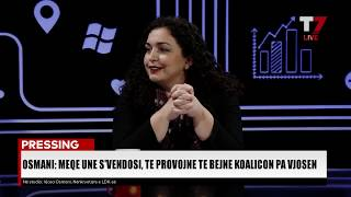 Download PRESSING, Vjosa Osmani - 07.11.2019 Video