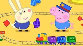 Download Peppa Pig Świnka Peppa po Polsku   Zabawa z pociągami!   Bajki Po Polsku Video