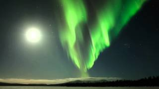 Download One night in Finnish Lapland with northern lights. Video