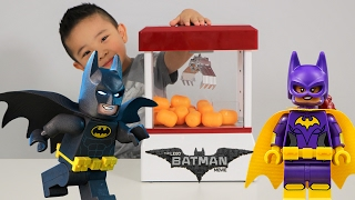 Download The Lego Batman Movie Claw Machine Surprise Eggs Blind Bag Challenge Fun With Ckn Toys Video