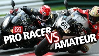 Download How much faster is a professional motorcycle racer? | BikeSocial Video