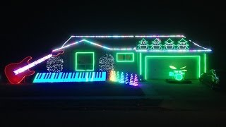 Download Sarajevo (Carol of the Bells) Christmas Light Show! WATCH END! - Trans-Siberian Orchestra) Video