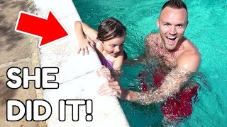 Download SHE LEARNED TO SWIM IN ONE DAY! 💦 Video