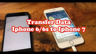 Download How to Transfer Data from iPhone 6s to iPhone 7 Video