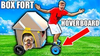Download BOX FORT HOVERBOARD!! Video