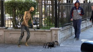Download Big Spider Attack In The City Prank - 4K (Reality Pranks 4k) Video