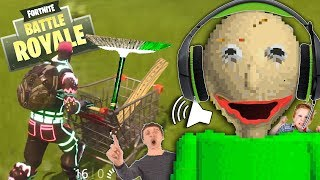 Download Kids RAGE at Baldi's Basics Fortnite Voice Trolling! | Baldi's Voice Impressions + Principal & Sweep Video