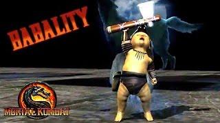 Download Mortal Kombat 9 Babality всех персонажей Video