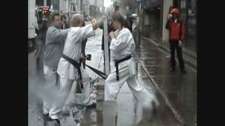 Download Tameshiwari Kyokushin, karate André Gilbert Video