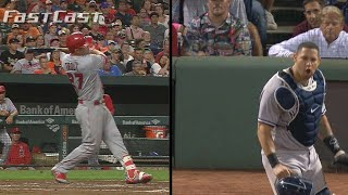 Download 8/19/17: MLB FastCast: Trout joins elite company Video