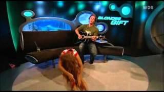 Download Oops Upskirt!!! Barbara Schöneberger At Tv Show Blondes Gift Video
