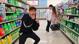 Download CRAZY DARES IN GROCERY STORE! Video