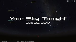 Download Your Sky Tonight - July 20, 2017 Video
