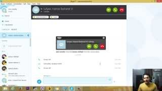 Download Make a Group Video&Audio call on Skype 2015 Video